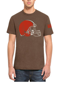 47 Cleveland Browns Brown Two Peat Fashion Tee