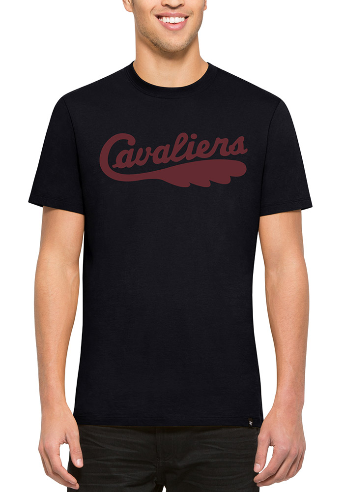 '47 Cleveland Cavaliers Mens Navy Blue Flanker MVP Short Sleeve Fashion T Shirt - Image 1