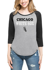 47 Chicago White Sox Womens Club Raglan Grey T-Shirt