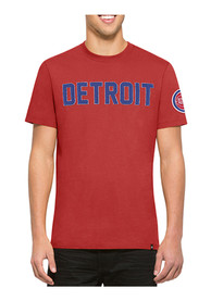 47 Detroit Pistons Red Fieldhouse Fashion Tee