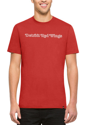 '47 Detroit Red Wings Mens Red Flanker MVP Tee Fashion Tee