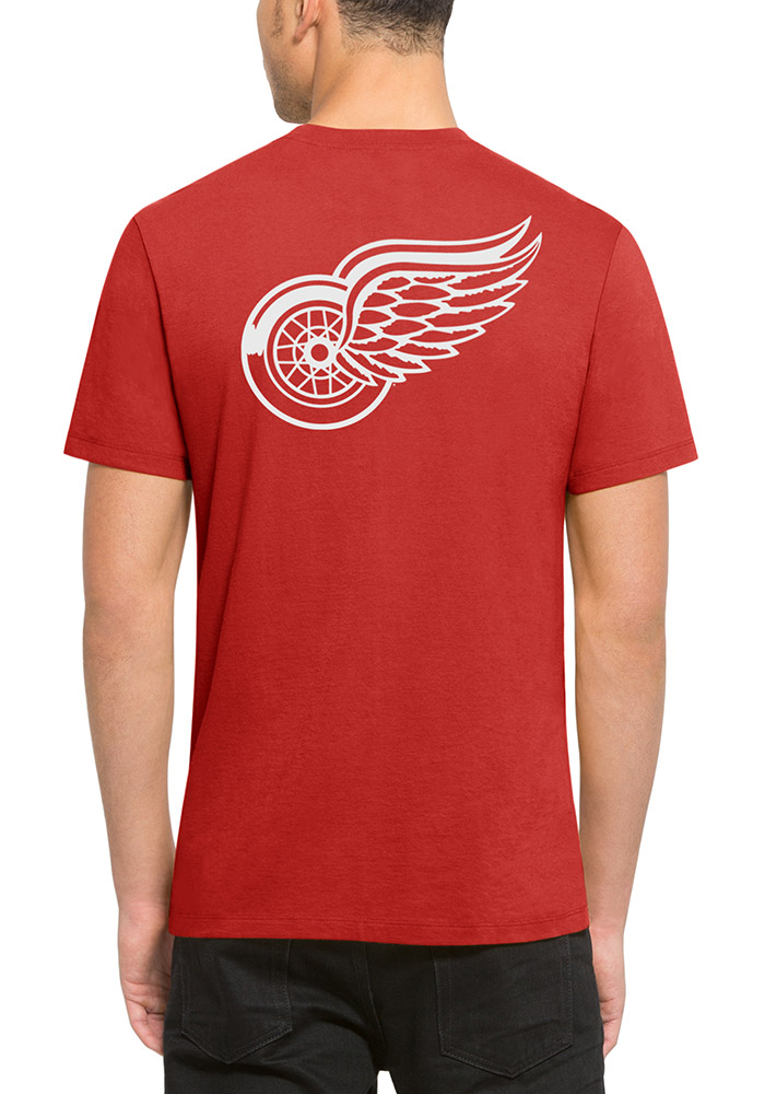 47 Detroit Red Wings Red Flanker MVP Tee Short Sleeve Fashion T Shirt - Image 2