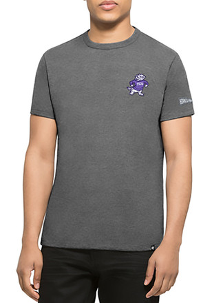 '47 Horned Frogs Mens Grey Rundown Fashion Tee