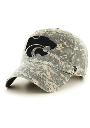 '47 K-State Wildcats Mens Green OHT Nilan Clean up Adjustable Hat