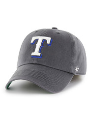 Texas Rangers '47 Charcoal Franchise Fitted Hat