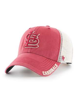 '47 St Louis Cardinals Mens Red Frontier Clean Up Adjustable Hat