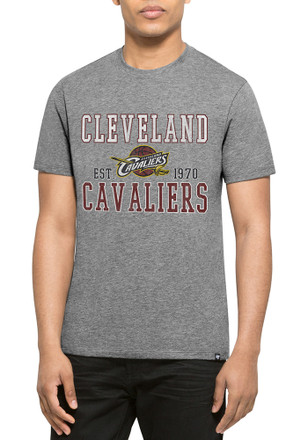 '47 Cleveland Cavaliers Mens Grey Distressed Tee