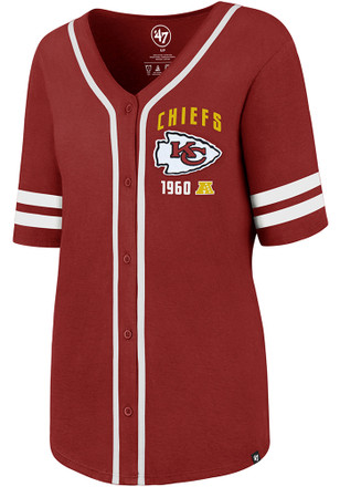 '47 Kansas City Chiefs Womens Red Meridian Scoop