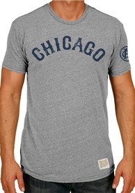 Original Retro Brand Chicago Giants Tri-Blend Short Sleeve Vintage T Shirt