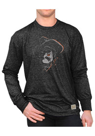Original Retro Brand OSU Black Long Sleeve Mock Twist Tee