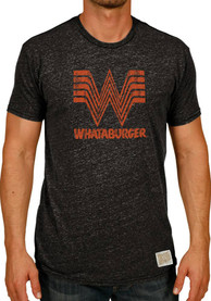 Original Retro Brand Whataburger Black Logo Short Sleeve T Shirt
