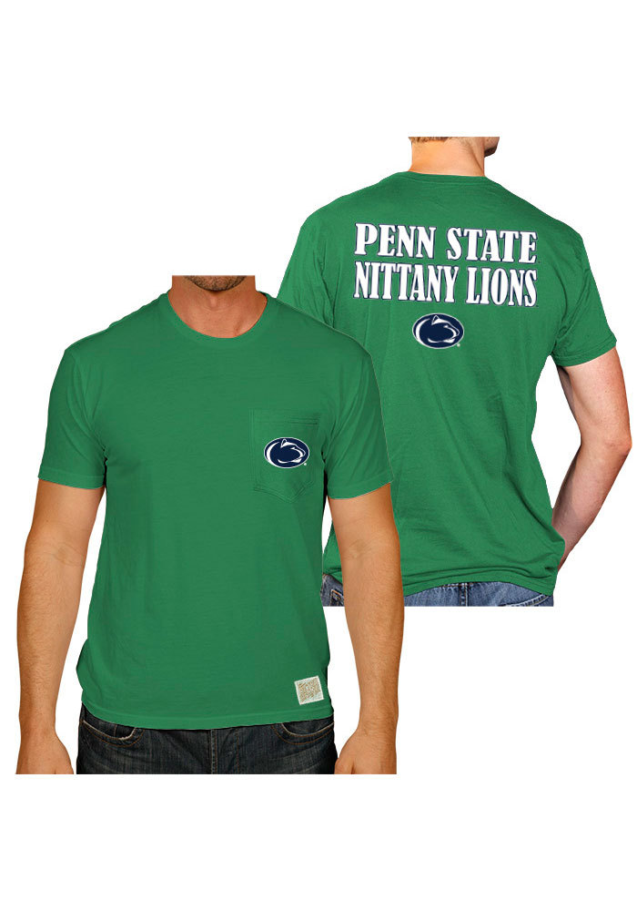 Original Retro Brand Penn State Nittany Lions Green St Pats Tee - Image 1