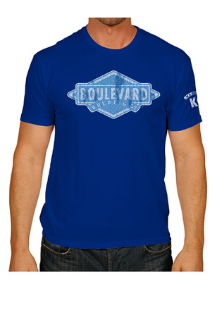 Retro Brand royal Mens screen print Fashion Tee
