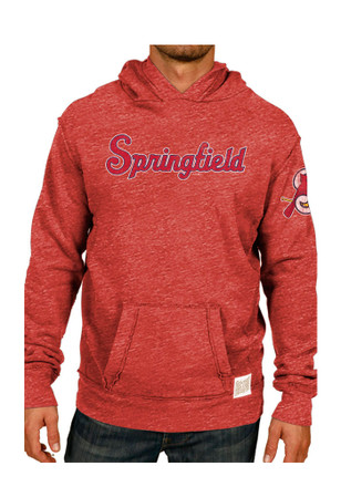 Original Retro Brand Springfield Cardinals Mens Pullover Red Fashion Hood