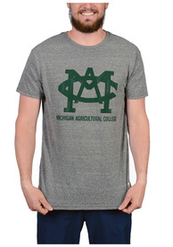 Original Retro Brand Michigan State Spartans Grey Agricultural Fashion Tee