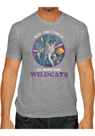Original Retro Brand K-State Wildcats Purple May The Force Be With You Tee