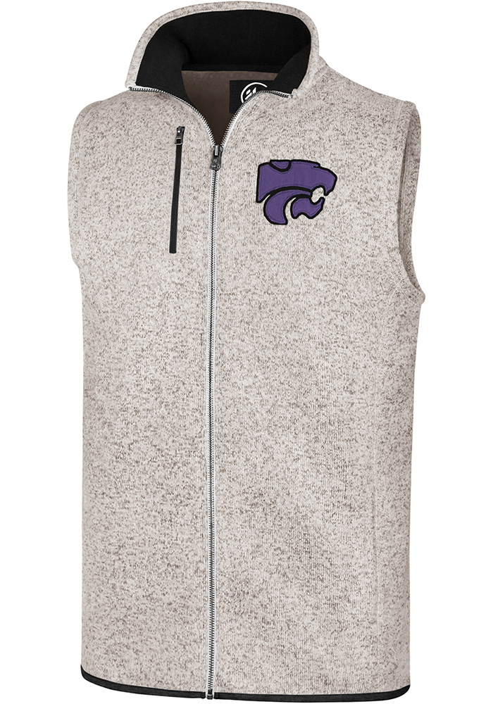 '47 K-State Wildcats Mens Oatmeal Kodiak Vest Sleeveless Jacket - Image 1