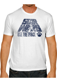 Original Retro Brand Penn State Nittany Lions White Use The Force Fashion Tee