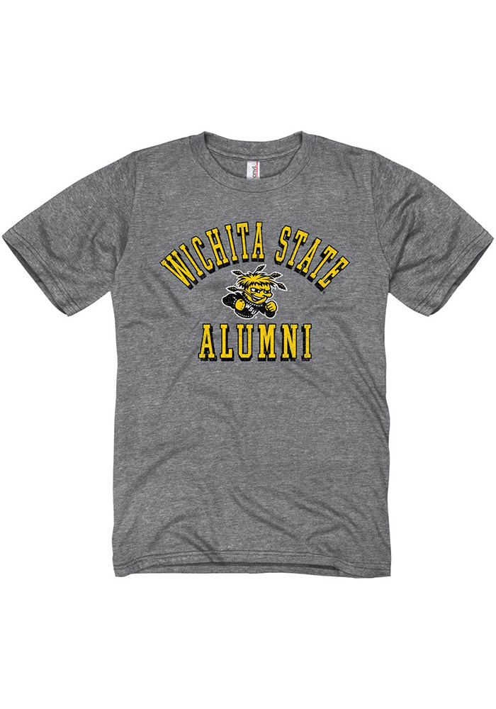Wichita State Shockers Grey Shadow Arc Alumni Tee