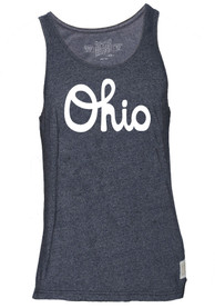 Original Retro Brand Ohio Dark Charcoal Script Tank Top