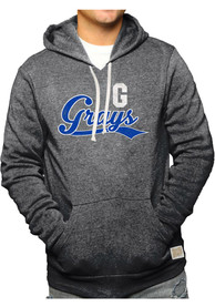 Original Retro Brand Homestead Grays Triblend Fleece Black Fashion Hood