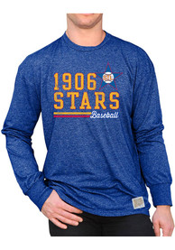 Original Retro Brand St Louis Stars Blue Mock Twist Fashion Tee