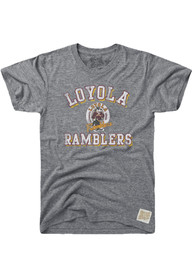 Original Retro Brand Loyola Ramblers Grey Team Fashion Tee
