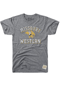 Original Retro Brand Missouri Western Griffons Grey Team Fashion Tee