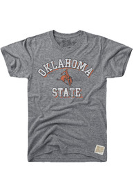 Original Retro Brand Oklahoma State Cowboys Grey Team Fashion Tee