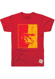 Original Retro Brand Pitt State Gorillas Red Logo Fashion Tee