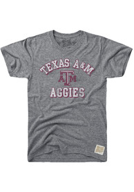 Original Retro Brand Texas A&M Aggies Grey Team Fashion Tee
