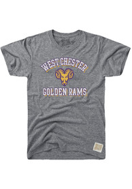 Original Retro Brand West Chester Golden Rams Grey Team Fashion Tee
