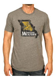 Original Retro Brand Missouri Western Griffons Grey State Fashion Tee