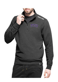 TCU Horned Frogs 47 Compete 1/4 Zip Fashion - Black