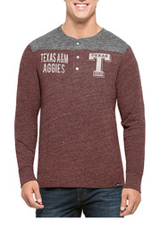 '47 Texas A&M Mens Maroon Neps Fashion Tee