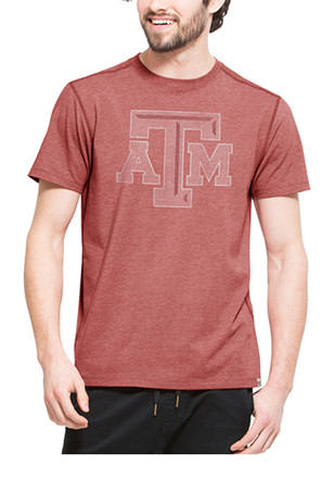 '47 Texas A&M Aggies Mens Cardinal Forward Fashion Tee