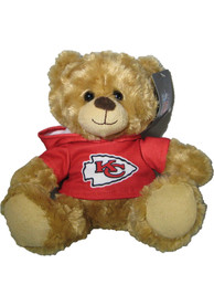 Kansas City Chiefs 9in Red Hoodie Bear Plush
