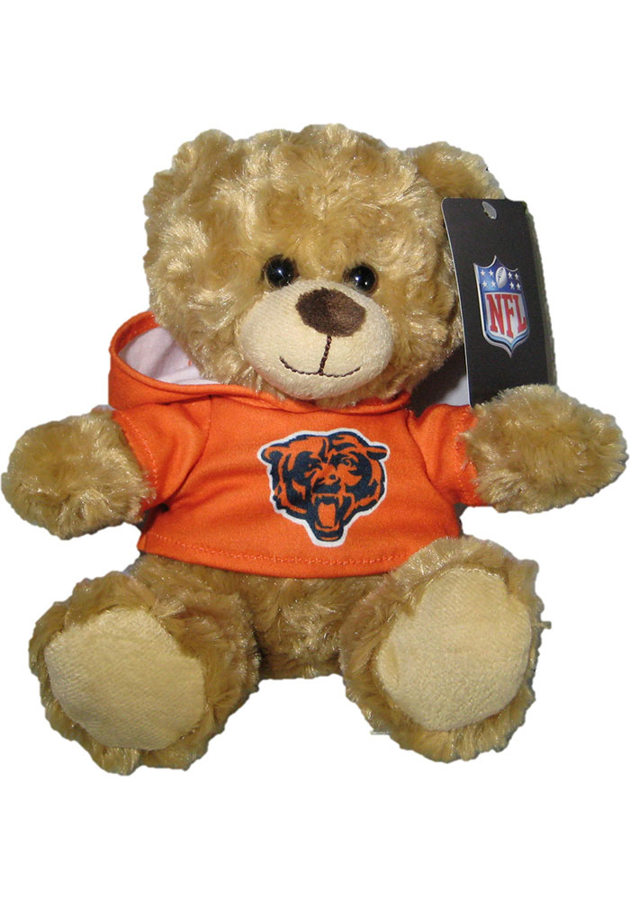 Chicago Bears 9in Tshirt Bear Plush - Image 1