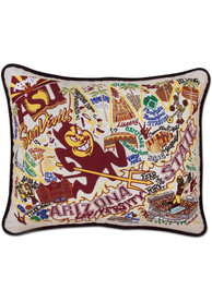 Arizona State Sun Devils 16x20 Embroidered Pillow