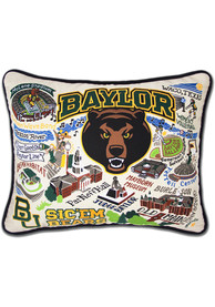 Baylor Bears 16x20 Embroidered Pillow