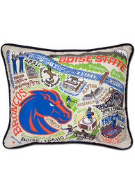 Boise State Broncos 16x20 Embroidered Pillow