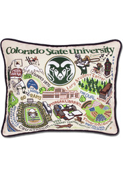 Colorado State Rams 16x20 Embroidered Pillow