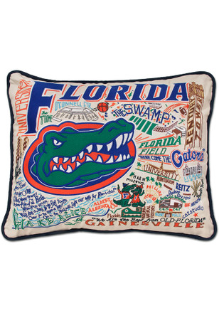 Florida Gators 16x20 Embroidered Pillow