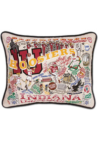 Indiana Hoosiers 16x20 Embroidered Pillow