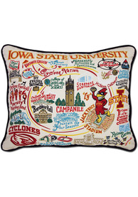 Iowa State Cyclones 16x20 Embroidered Pillow