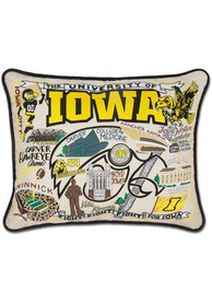 Iowa Hawkeyes 16x20 Embroidered Pillow