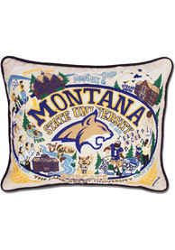 Montana State Bobcats 16x20 Embroidered Pillow