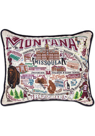 Montana Grizzlies 16x20 Embroidered Pillow