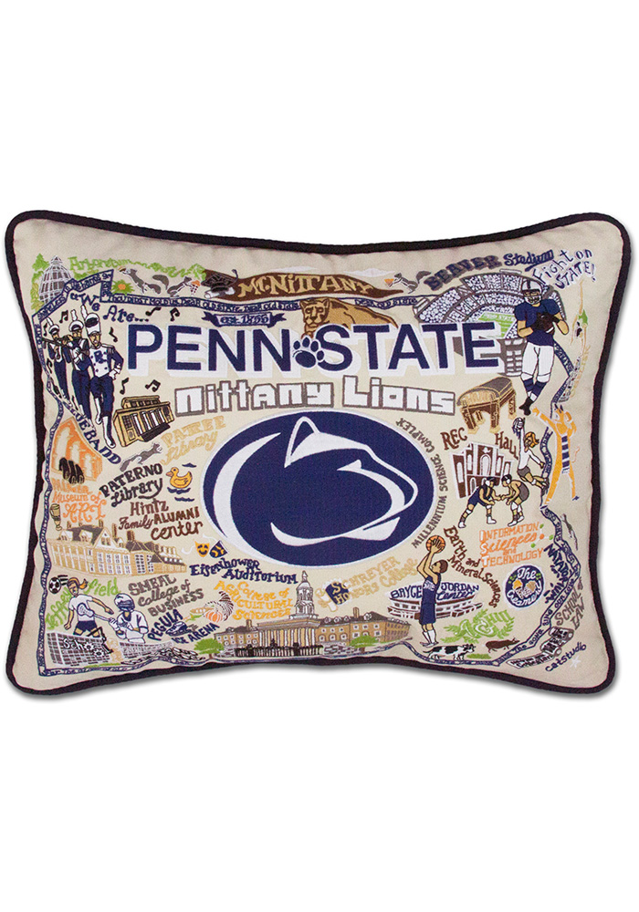 Penn State Nittany Lions 16x20 Embroidered Pillow - Image 1