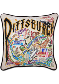 Pittsburgh 20x20 Embroidered Pillow